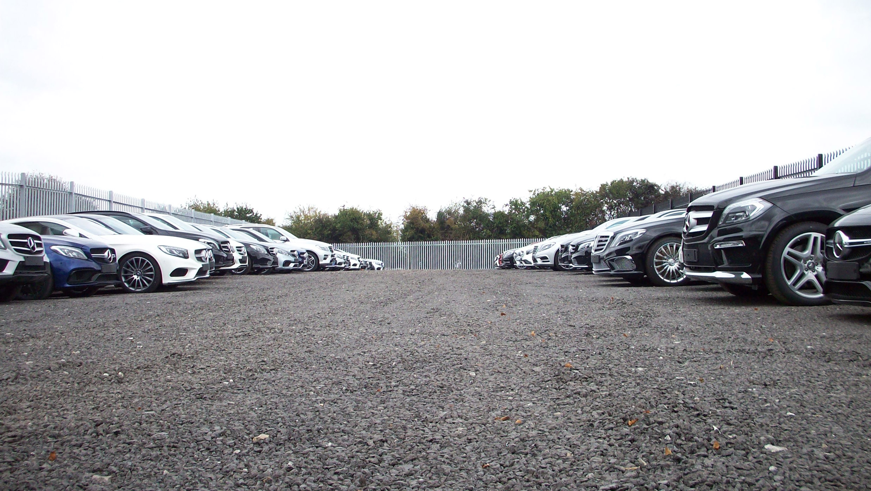 Secure Car Storage Yard at Cerberus Storage